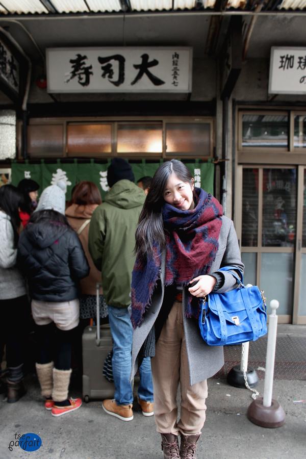 tokyo tsukiji market street style